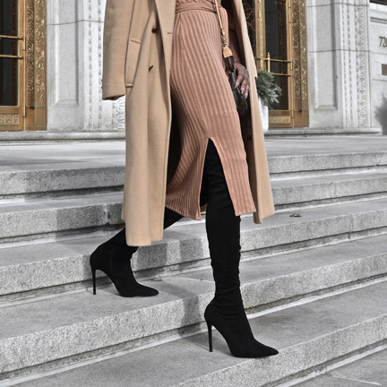 the staple camel coat