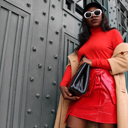 fall fashion trends hot red